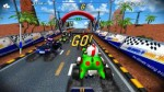 Monkey Racing на Андроид - Забавные обезьяны на машинах