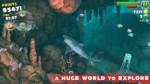 Взломанная Hungry Shark Evolution на Андроид - Пришло время обеда