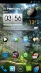 3D Sense Clock & Weather на Андроид - Точное время и погода в трехмерном формате
