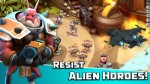 Взломанная Alien Creeps TD на Андроид - Много денег и кристаллов